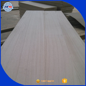 high quality paulownia edged glued boars /paulownia wood price