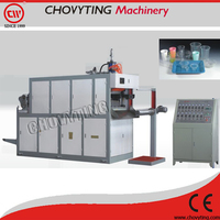 fully-automatic small plastic disposable cup making machine