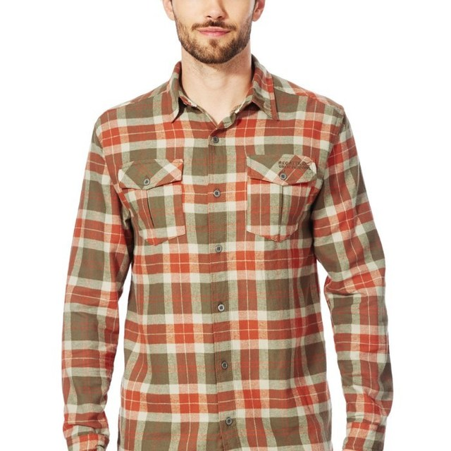 Men's long sleeves button down shirts With Collars