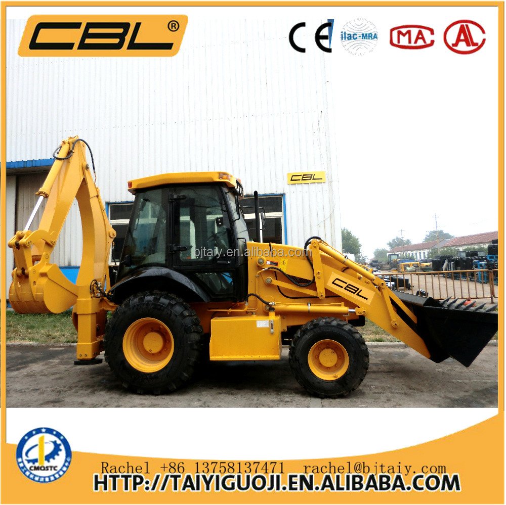 SAM388 mini small digging machine backhoe loader for sale