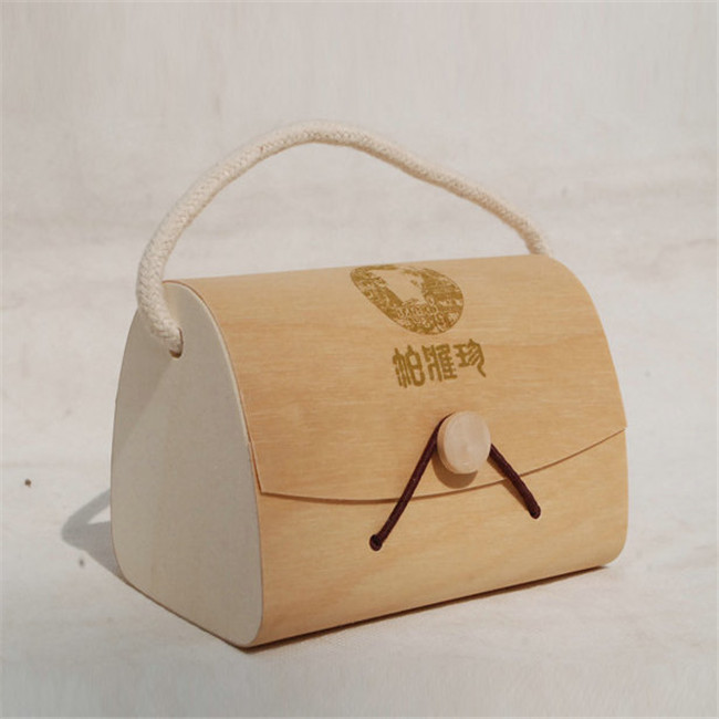 Holiday Gift  Bark Veneer Boxes for Wine Champagne Gifting Wooden Box