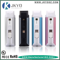 4 in 1 Power Bank 2200 mAh + Flashlight+ Card Reader + Built-In Cable Power Bank 2200mAh