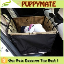 China Factory direct custom car dog mat doggie cushion pet seat cover, Dog pet carrier for car