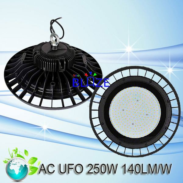 Promotion Dimmable 250W UFO led highbay lights 250watt high bay