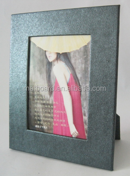 colored board paper board photo frame/stand paper photo frame