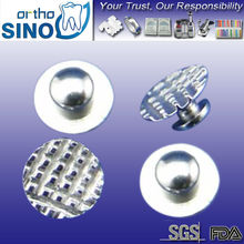 lingual button orthopedic implants