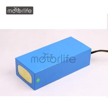 MOTORLIFE ROHS pass customize 48v10ah li-on bulk battery,e-bike battery