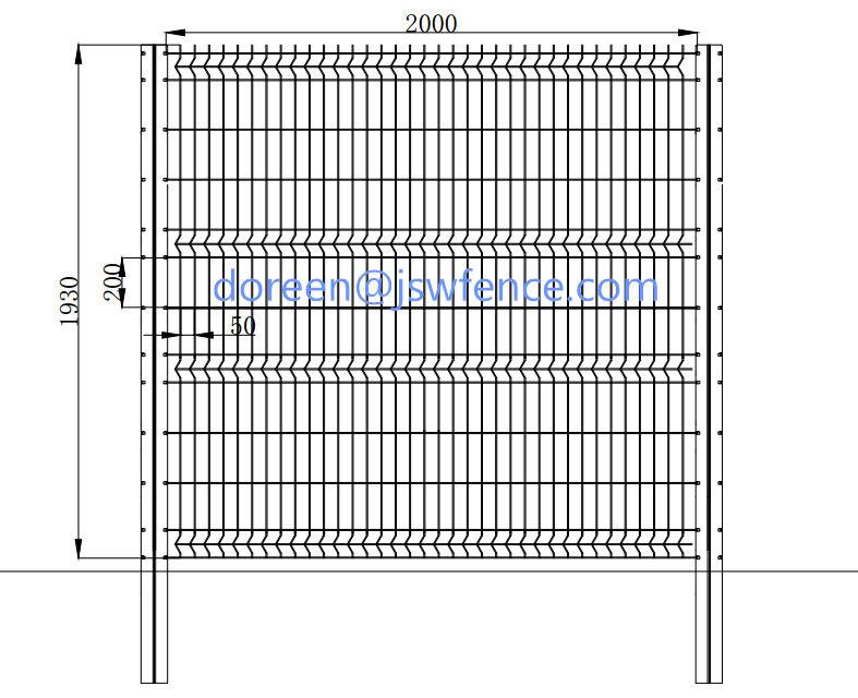 Galvanized wire welded fencing mesh buy