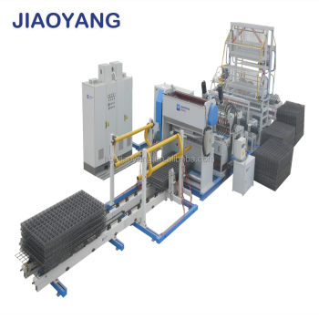 Welded wire mesh making machine for manufacturing mesh/Barbed wire machine