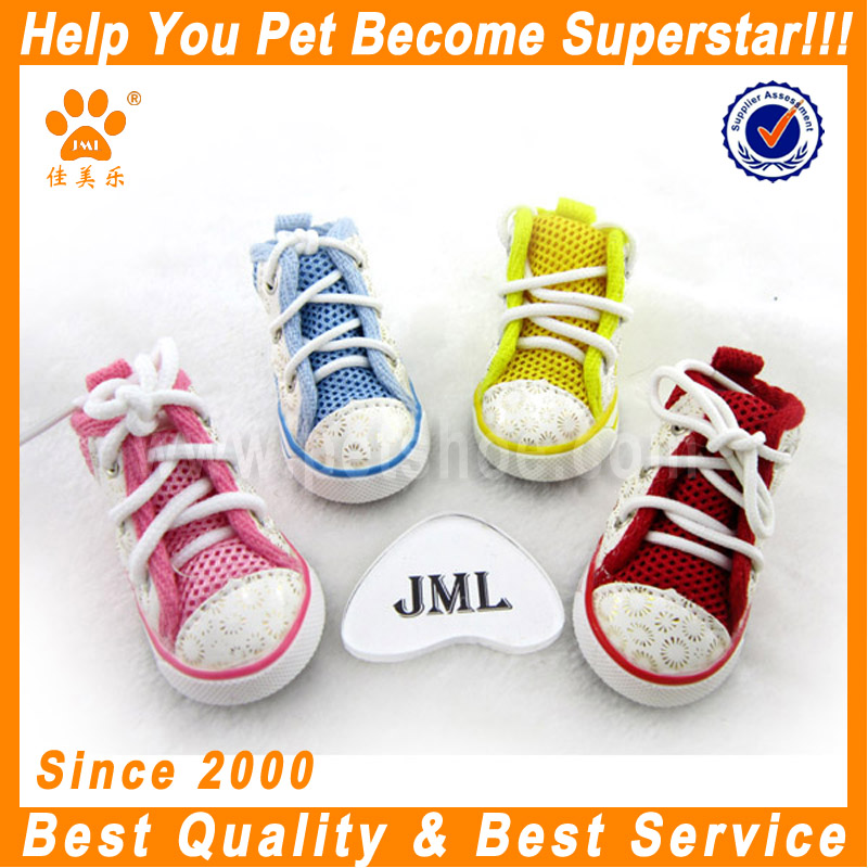 JML high quality fashion cheap pet dog shoes for summer weight lifting converse dog shoes