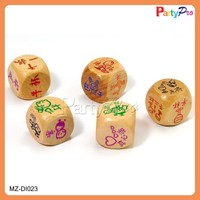2015 New Product Best Quality Kamasutra Dice Sex Game Game Dice Made in China