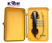 parts and function of telephone waterproof telephone KNSP-01T2S