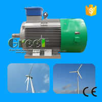 HOT sale! Low speed permanent magnet generator,20kw low rpm Nd-Fe-B magnet power wind generator!