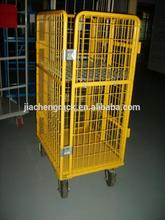 Enough experience wholesale supermarket roll cages/roll containers/roll trolleys for transporting