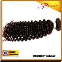 New hair 100% human hair kinky curly Indian remy romance curl hair