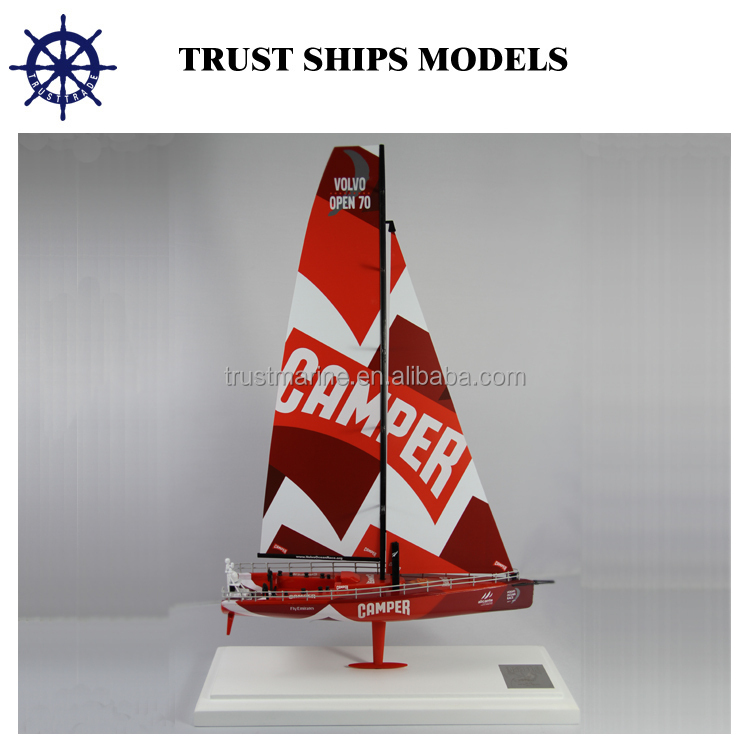 Spanish sailboat model for home decoration