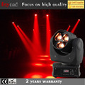 Guang zhou 3x4in115w led mini bee eye beam light moving head for dancing floor
