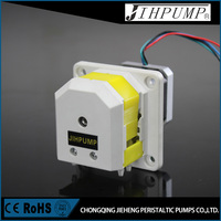 Analyzer mini peristaltic pump quick install panel type with flow rate 200ml/min of JIHPUMP brand