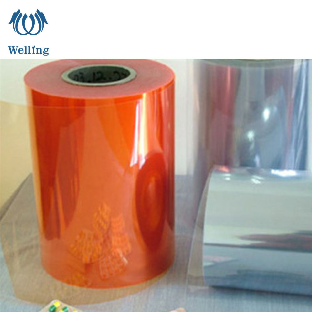 0.25mm PET PVC  Clear Transparent film for Pharmaceutical Medical Packing