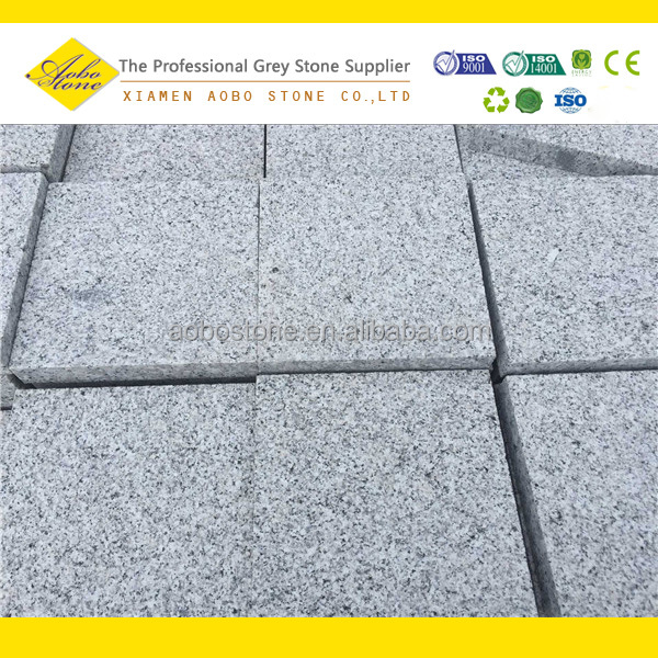 G603 imperial grey granite unpolished paving stone