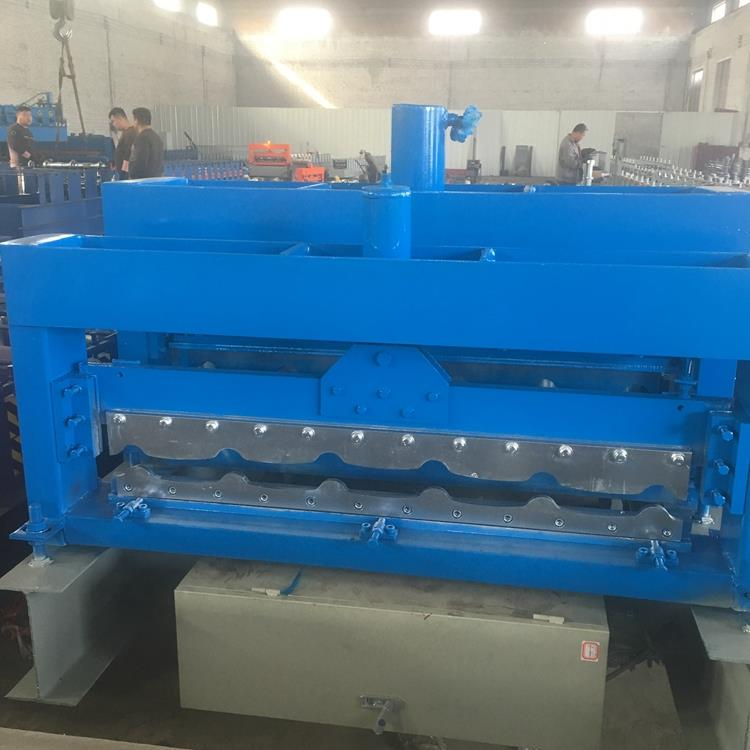 New type automatic <strong>c10</strong>&c21 double layer metal steel corrugated profile machine with CE certificate