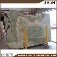 hot sale green onyx marble stone slab price