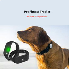 2017 new custom design waterproof IP67 bluetooth pet dog pedometer with heart rate monitor