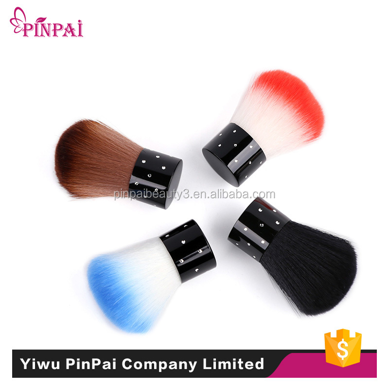 PinPai Brand Cheap round small plastic cleaning nail dust brush