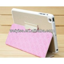 Hello Kitty Cute Leather Case for Ipad Mini