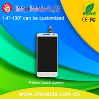 white touch digitizer mobile phone lcd screen for iphone