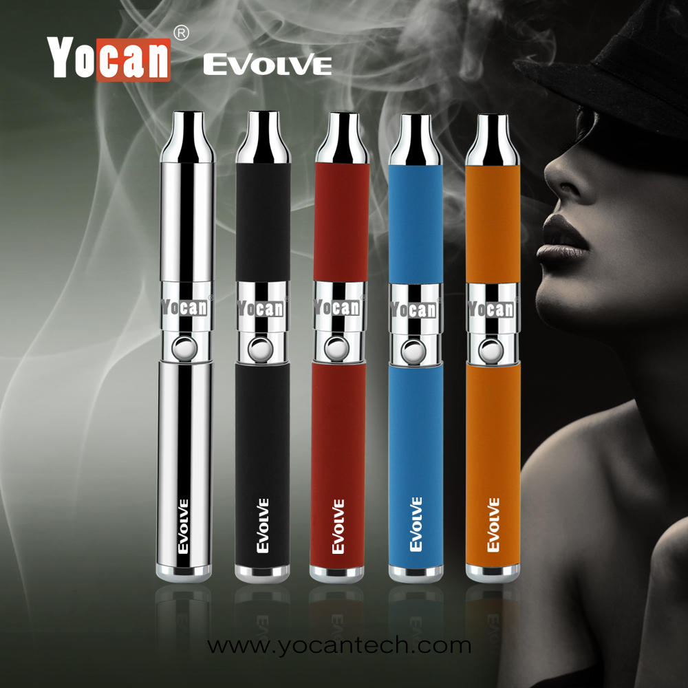 Yocan Evolve Top selling product Wholesale wax vaporizer smoking electronics vaporizer manufacturers price wax pen
