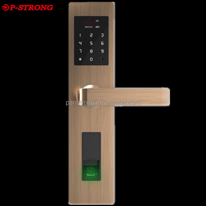 Emergency Power Hidden Lock Hore Nigeria Door Lock With Free-style Handle