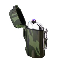 KL-060 Waterproof Lighter Rechargeable Lighter with Flashlight High Quality