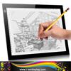 Ultra Thin Drawing Tablets Tracing LED
