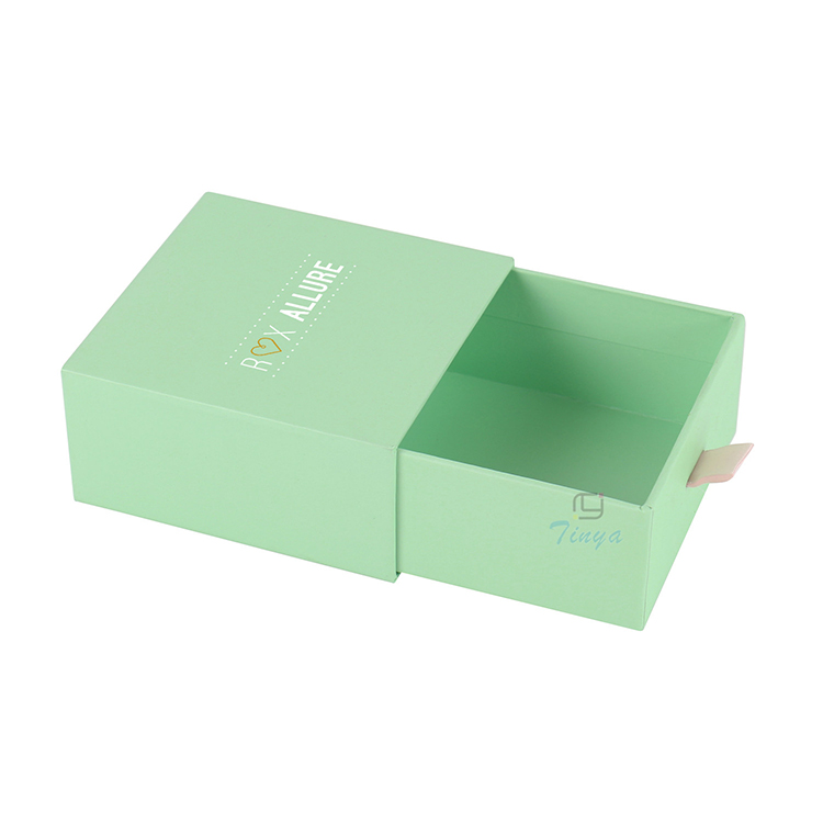 drawer packaging paper gift boxes for bracelets