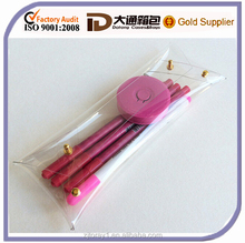 Plain Transparent Plastic Pencil Case Pencil Holder Make up Bag