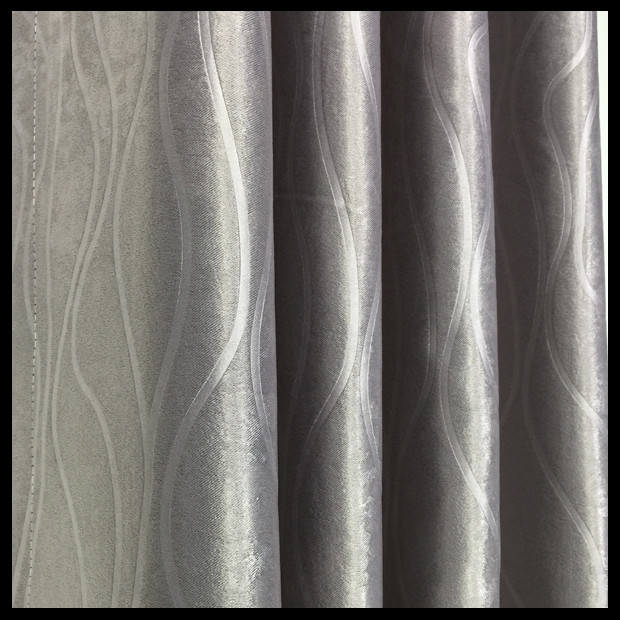 Luxury ready made printed fabric curtain blind curtain drapes