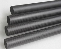 Carbon Fiber high quality epoxy tube FRP GRP front masks for mass transit