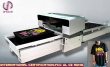A2 size tshirt printing machine/garment textile printer/direct to clothing printer