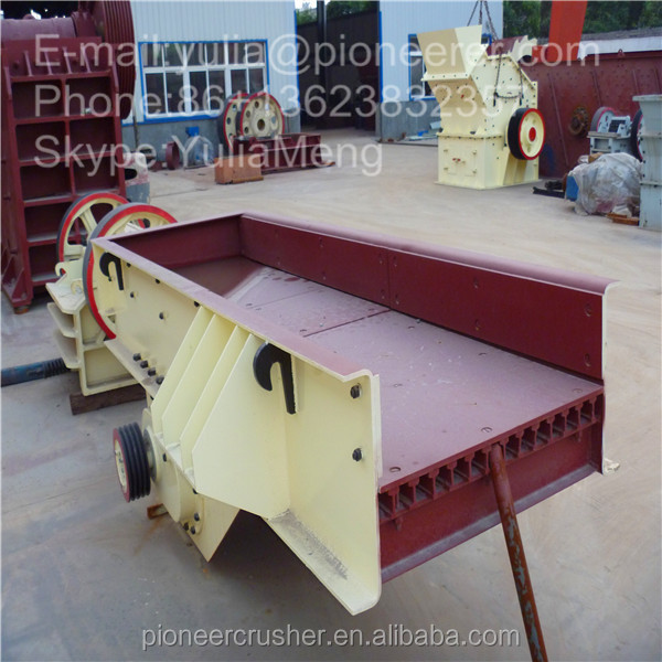 Hot Saling Export Overseas Mining Machinery ZSW Vibrating Feeder/ High Adjusting Capability Vibrating Feeder