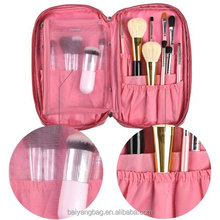 Multifunction profeesional travel ladies cosmetic bag cases brush make up bag