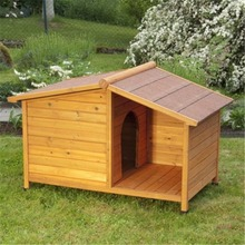 Custom outdoor teddy pet cage wooden dog kennel for sale