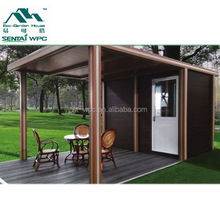 WPC BPC environmental container prefab houses made in china