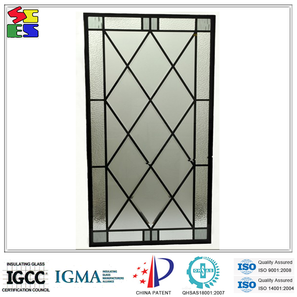 2015 new design professional iron glass of wrought iron for New door design 2015