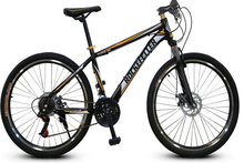 RF mountain bike 26 inch 21 speedblack-yellow student bike