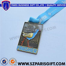Metal Gift And Souvenir Medals With Bird Embossed Design