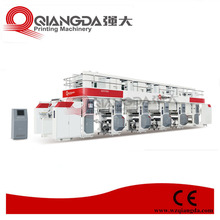 Super High Speed Electronic Line Shaft Gravure Printing Machine With Servo Motor Controlled