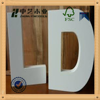 Home decor wall letter wooden number large wooden numbers animated numbers and letters wood alphabet