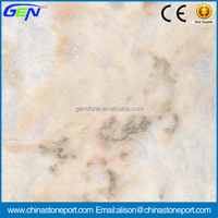 Cheap Polished Red Natural Stone Rose Aurora Marble Tiles
