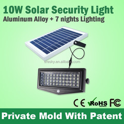 Powerful Led Solar Security Light With Motion Sensor